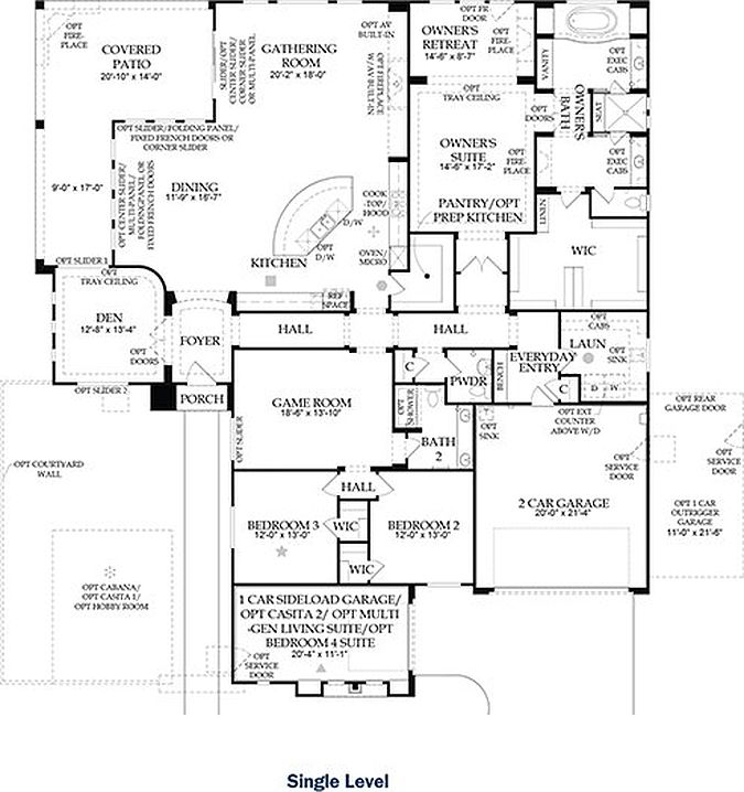 Plan 2 - Royalty Plan, The Estate Collection Las Vegas, NV 89129