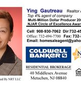 Ying Gautreau, Agent in Metuchen, NJ