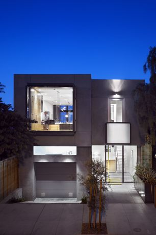 Modern Exterior of Home with Steel exterior