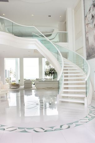 Staircase with Laminate floors