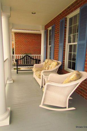 Cottage Porch with Wrap around porch