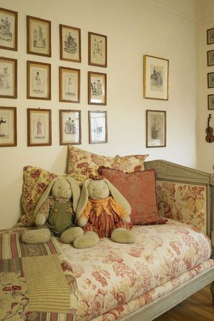 Traditional Kids Bedroom with Antoinette French Country Limed Oak Day Bed
