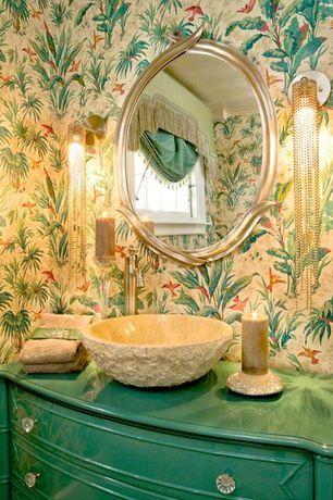 Tropical Powder Room