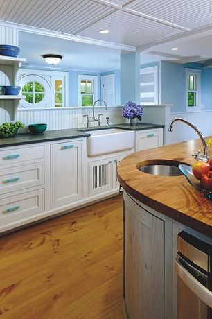 Country blue kitchen design ideas pictures zillow digs for Kitchen ideas zillow