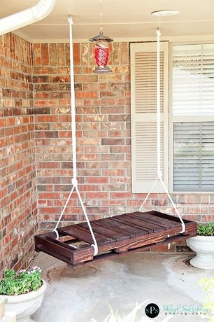 'Traditional Porch with DIY Pallet Swing, Porch swing, exterior stone floors, Brick-It - Flagstaff Wall Thin Brick Veneer' from the web at 'http://photos1.zillowstatic.com/i_e/ISt001bnyywxe70000000000.jpg'