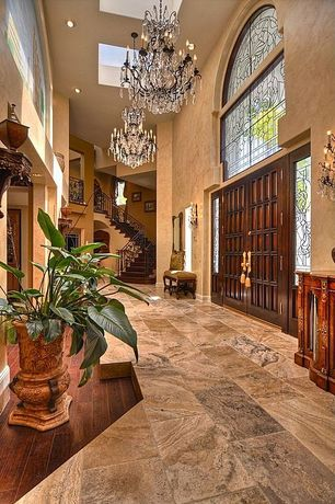 Traditional Entryway with American Clay, Pental - African Ivory Polished Granite, Armstrong Flooring - Cherry in Fireside