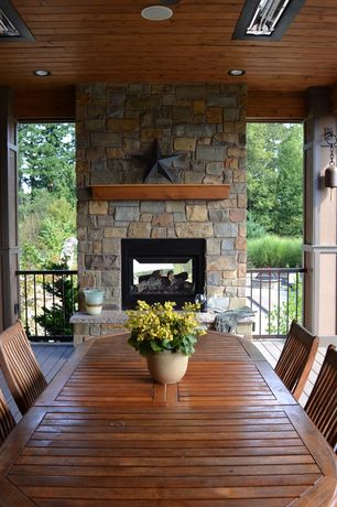 Country Porch with Screened porch, Fire pit, Raised beds