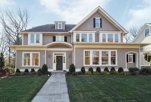 Traditional Exterior of Home with Pathway, exterior stone floors