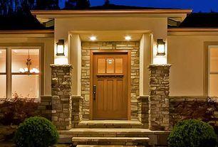 Craftsman Front Door with Restoration hardware vintage french gas lantern sconce bronze