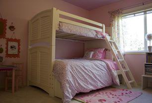 Modern Kids Bedroom with Art desk, Carpet