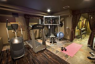Contemporary Home Gym with Paint 2, Paint 3