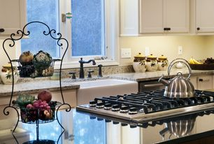 Traditional Kitchen with Helena widespread kitchen faucet with side spray - oil rubbed bronze