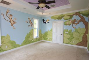 Tropical Kids Bedroom