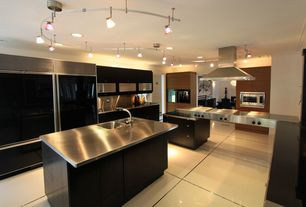 Contemporary Kitchen with Schulter Systems Schluter-DECO, Glass panel, U-shaped, Schluter Systems Schluter-DECO, Flush