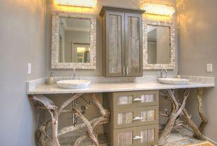 Contemporary Master Bathroom with Royal white, Botticelli white carrara marble