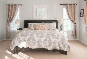 'Traditional Master Bedroom with Carpet, Virginia Taupe Blackout Window Curtain Panels (Set of 2), High ceiling' from the web at 'http://photos1.zillowstatic.com/i_f/IS1bxbwc3k92ye1000000000.jpg'