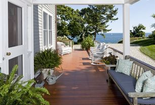 Cottage Porch with Pathway, French doors, Wrap around porch