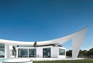 Contemporary Exterior of Home with Casa colunata, Minimalist