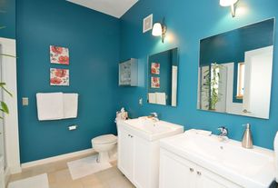 Sherwin williams really teal design ideas pictures for Bathroom designs jamaica