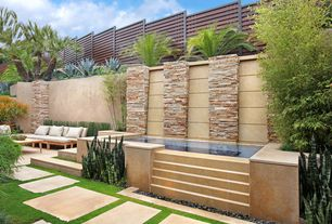 Contemporary Landscape/Yard with Outdoor seating