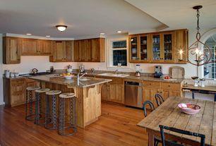 Country Kitchen with Breakfast bar, electric cooktop, Undermount sink, Complex Granite, Breakfast nook, Multiple Sinks