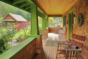 Country Porch with Pathway, Wrap around porch, Dutch door