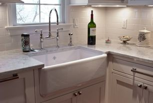 Traditional Kitchen with Dekton-Ultra Compact Surface Countertop in Kairos