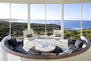 Modern Patio with Pathway, Kangaroo island, australia, Home loft concept tassolo modern leather chair, Window wall
