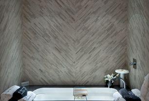Contemporary Master Bathroom with can lights, Master bathroom, Bathtub, Standard height