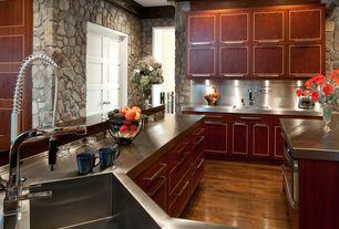 Contemporary Kitchen with Plumbtile dornbracht - profi single-lever mixer