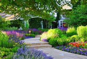 Traditional Landscape/Yard with Pathway, Arizona Flagstone, exterior stone floors