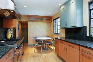 Modern Kitchen with Lg hausys viatera-quartz countertop in trentino, Breakfast nook, Flat panel cabinets, Quartz counters