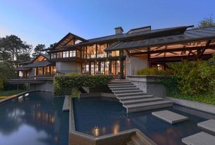 Asian Exterior of Home