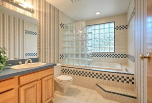 Country Full Bathroom with Slate, Revere cabinet doors  revere cabinet doors pin it squared raised panel, Raised panel