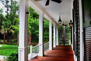 Craftsman Porch with Screened porch, Pathway