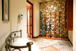 Mud Room with Build Direct Roterra Slate Tile - Meshed Back Patterns Multi Raja / Flag Stone Pattern