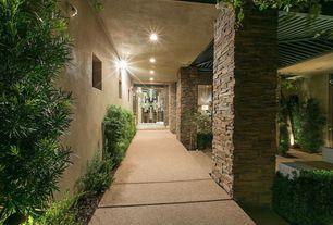 Contemporary Front Door with exterior tile floors, exterior concrete tile floors, Pathway