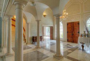 Entryway Columns Concrete Floors Design Ideas Pictures Zillow Digs