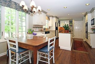 Traditional Kitchen with Home Legend Distressed Barrett Hickory 3/8 in. Thick x 3-1/2 in. x 6-1/2 in. Wide x 47-1/4 in. Lengt