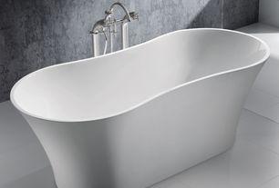 Contemporary Full Bathroom with Master bathroom, Freestanding, ADM Free Standing Tub