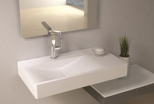 "Contemporary Master Bathroom with Hansgrohe 31087 metris e 230 18-2/7""l single hole faucet, Paint 1"