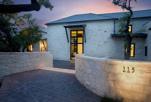 Contemporary Front of Home
