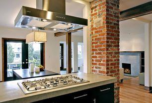 Contemporary Kitchen with Brooks Custom Engineered Concrete Countertops, Advanta Cabinets Calibra II Double Espresso