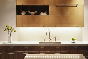 Modern Kitchen with Dekton-UltraCompact Surface Countertop in Zenith