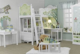 Contemporary Kids Bedroom with no bedroom feature, Paint 2, Paint 1, Carpet, TreeTop Children Furniture Bunk Bed