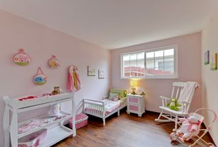 Traditional Kids Bedroom with Laminate floors