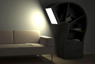 Modern Living Room with Standard height, Carpet, Crate & barrel - highline leather sofa, Wha cabinet, Paint, Tembolat gugkaev