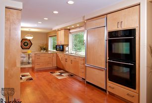 Contemporary Kitchen with