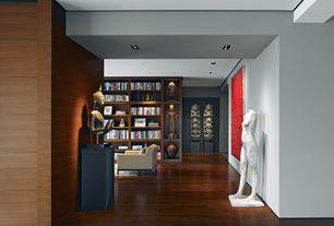Contemporary Hallway with Laminate floors