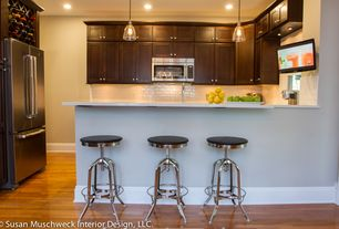 Contemporary Kitchen with Home Decorators Collection-